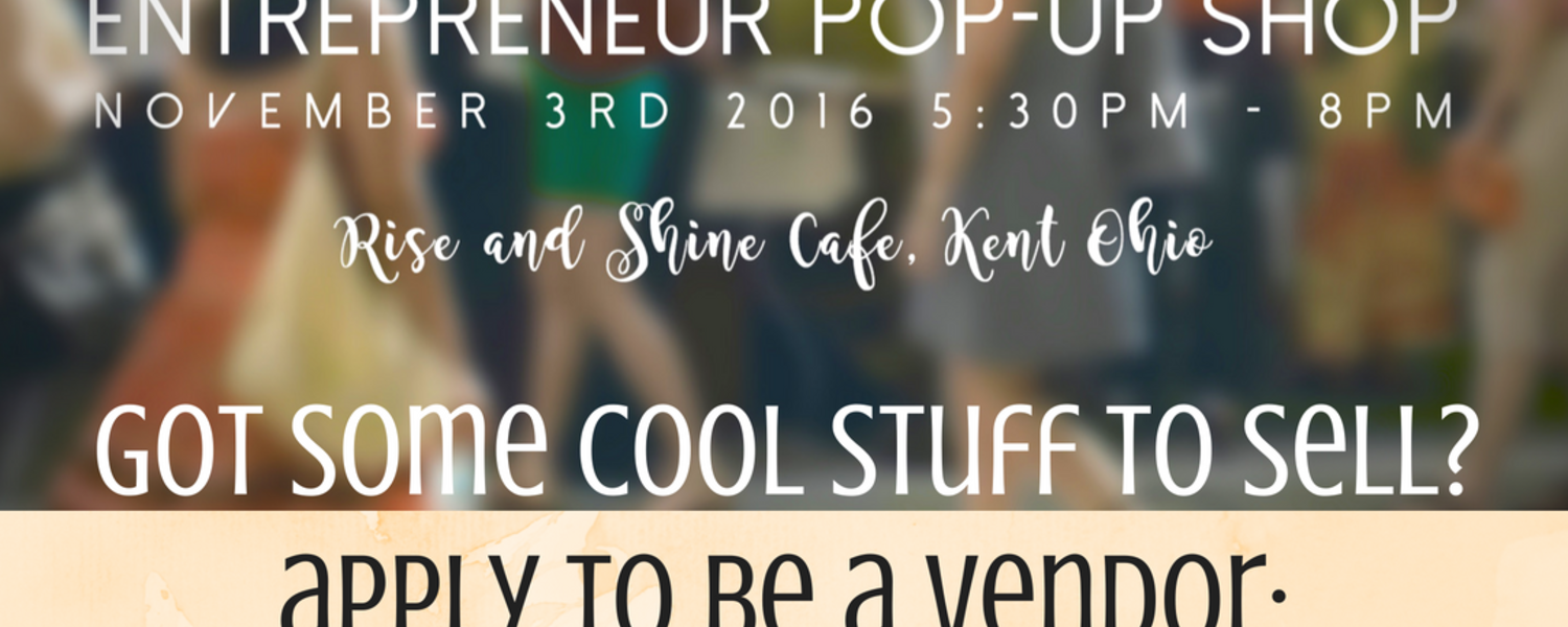 Sell or buy cool stuff at the LaunchNET Pop-up Shop on November 3, 2016.