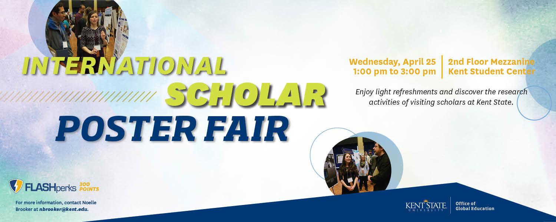 International Scholar Poster Fair, April 25