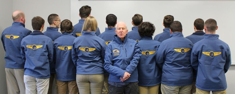 2017 Flight Jacket donation from Eugene Montgomery backs of jackets