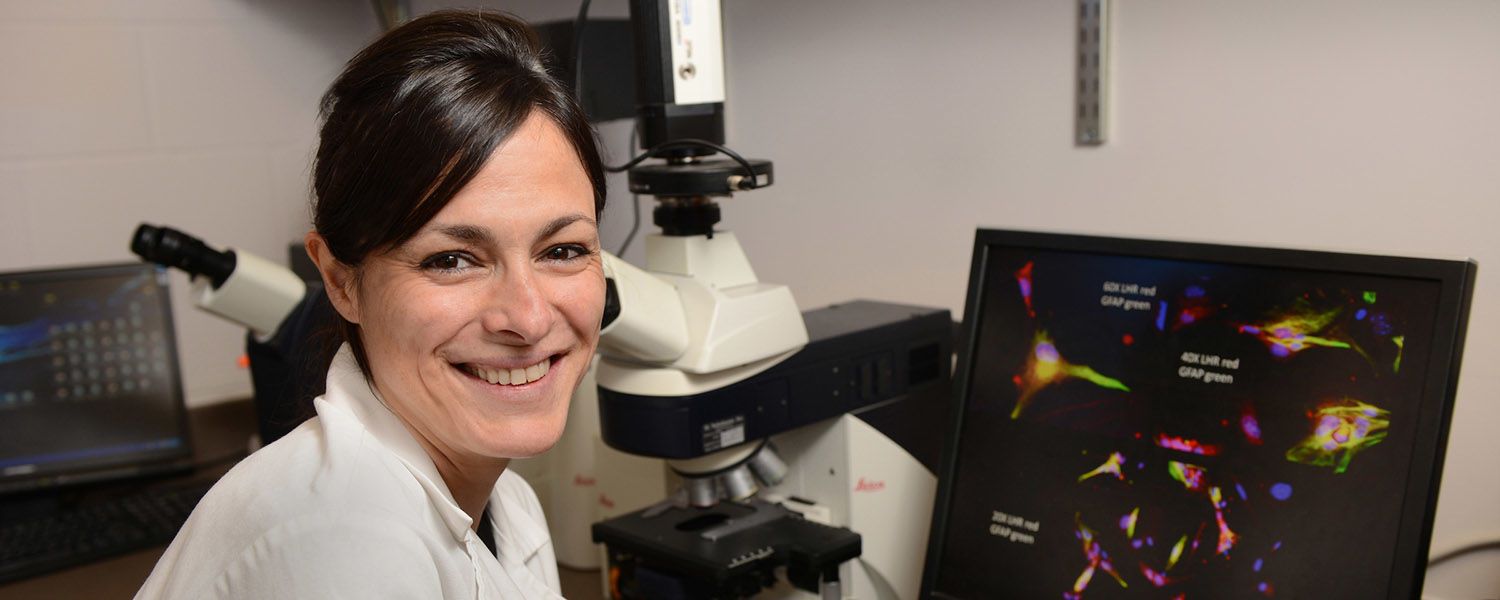 Kent State Biologist Gemma Casadesus Smith has been awarded a $1.8 million grant to study Alzheimer's in women.