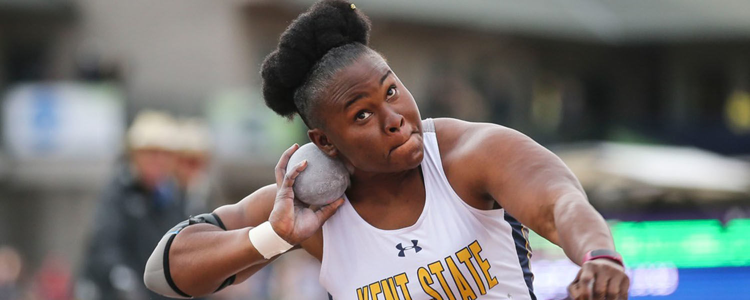 Historic performance by shot-putter