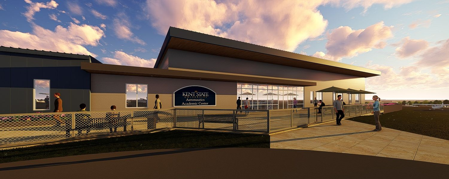 image proposed Airport Academic Building