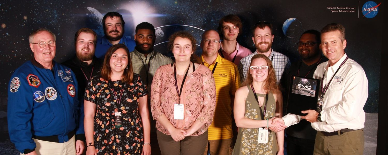 photo Robotics Team awarded at 2018 NASA Robotic Mining Competition