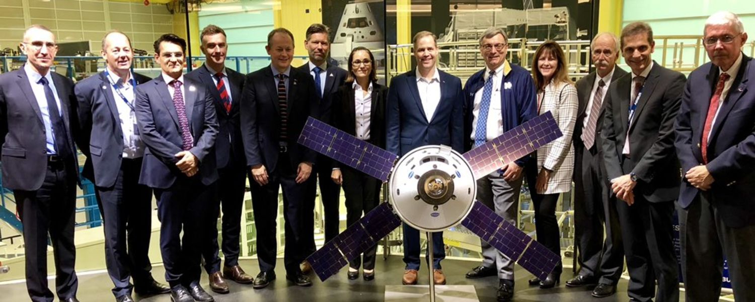 photo Tour of AirbusSpace where the European Service Module (ESM) is being assembled for NASA Orion