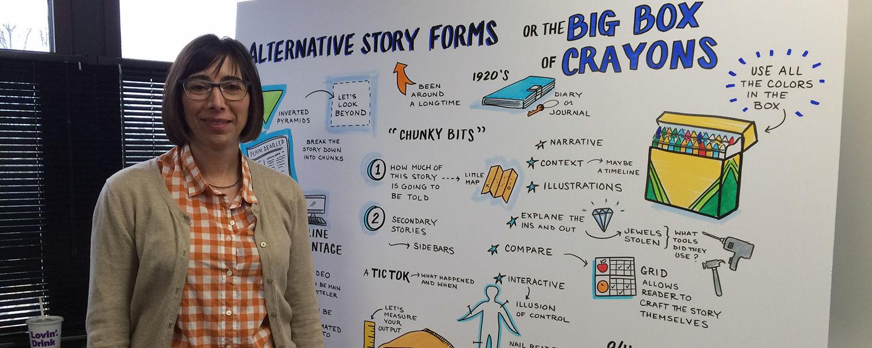Johnine Byrne, Graphic Recorder - Alternative Storytelling