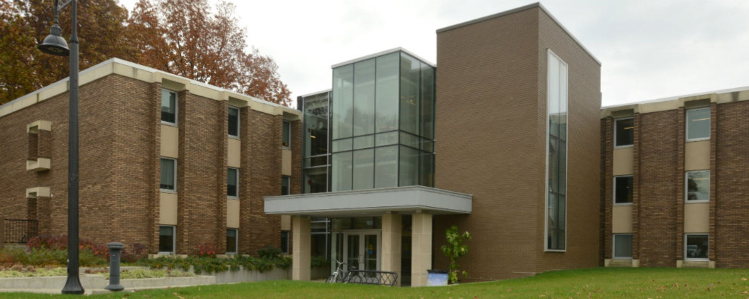 The Office of the University Architect is located in Suite 101 of Harbourt Hall, found on Loop Road on the Kent Campus.