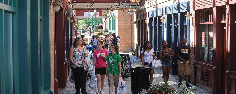 Acorn Alley in Downtown Ken