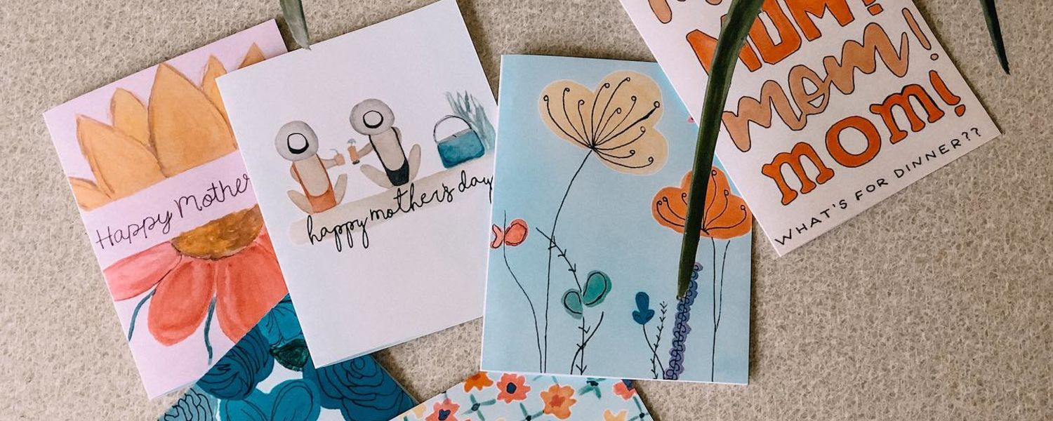 Mothers Day Cards from Linden Lane Artworks