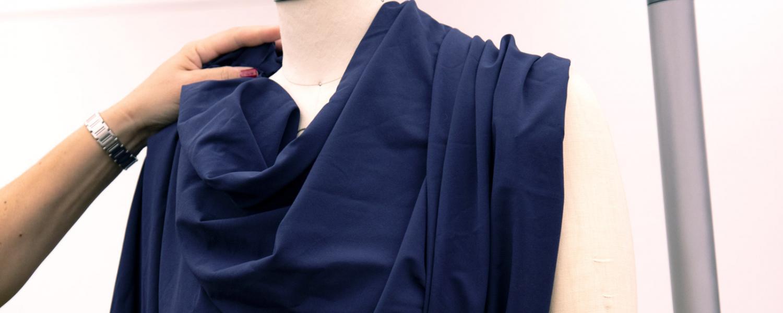 garment on dressform