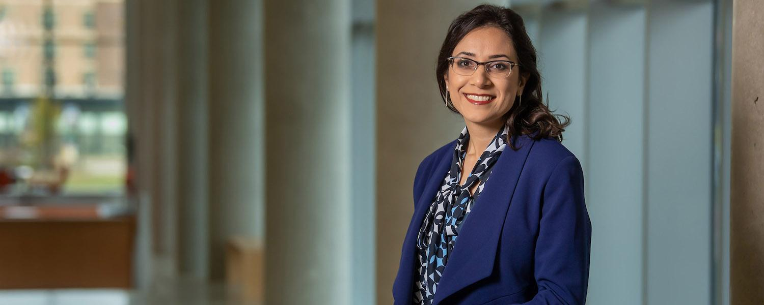 Sara Bayramzadeh, Ph.D., serves as coordinator and Elliot Professor in the Healthcare Design Program in Kent State University's College of Architecture and Environmental Design.