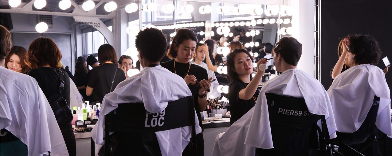 Hair and Makeup at New York Fashion Week