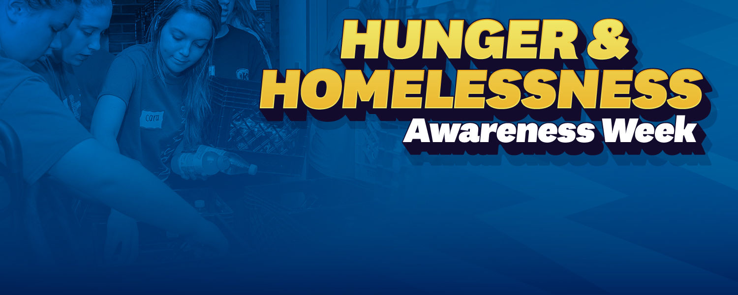 Hunger and Homelessness Awareness Week Banner