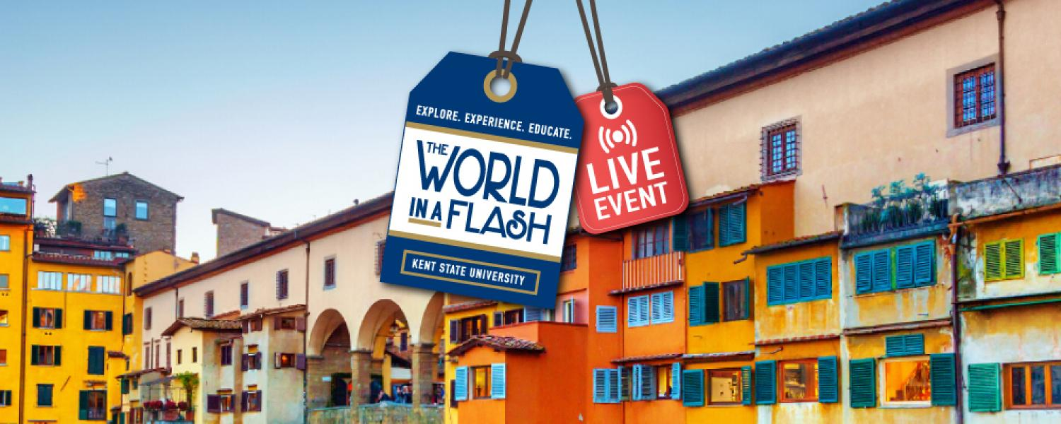 World in a Flash, Live Event, A Stroll Through Florence