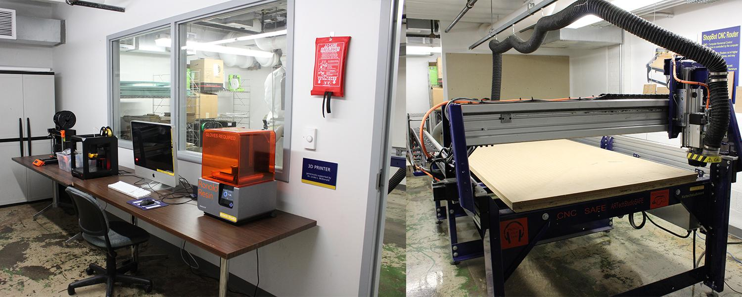 ARTech Studio - 3D printers and large flatbed router