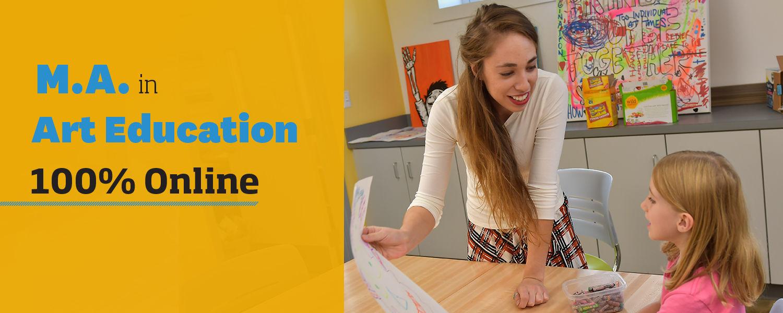 M.A. in Art Education 100% Online program