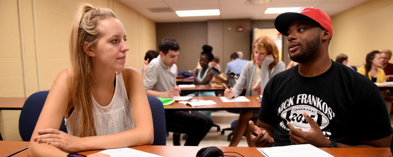 Communications undergraduate students