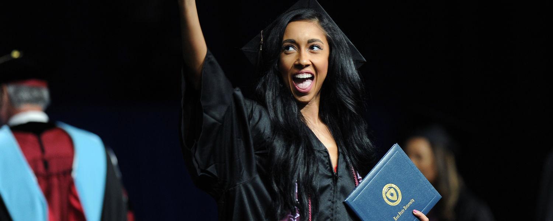 Graduation - waving