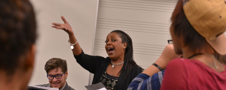 Professor Singing