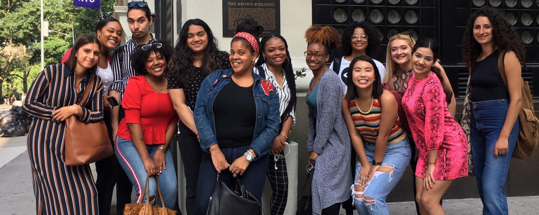 NYC Fashion program Senior Study Tour class
