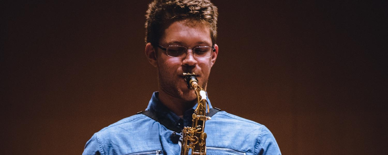 KSU Saxophone Student