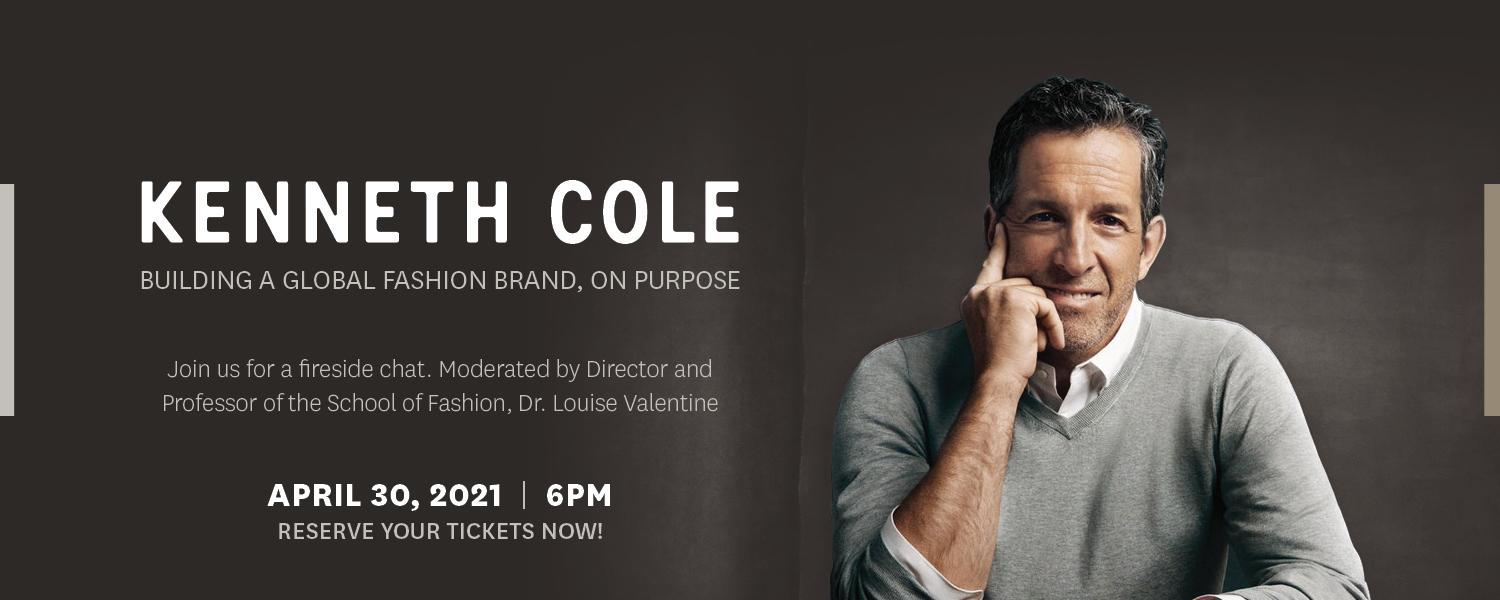 Kenneth Cole image and event information