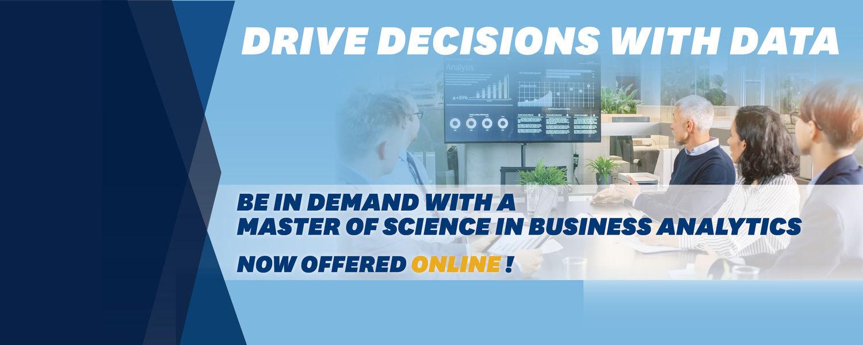 MS business analytics online