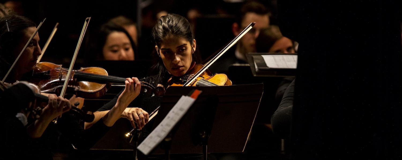 Violinist in KSU Orchestra