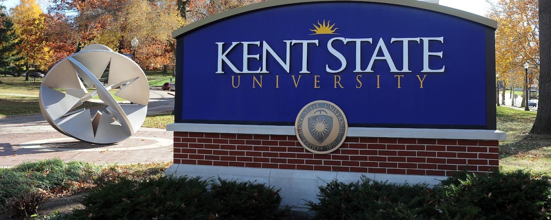 Kent Campus sign