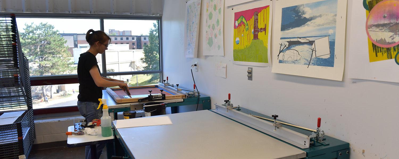 Silkscreen Studio Space