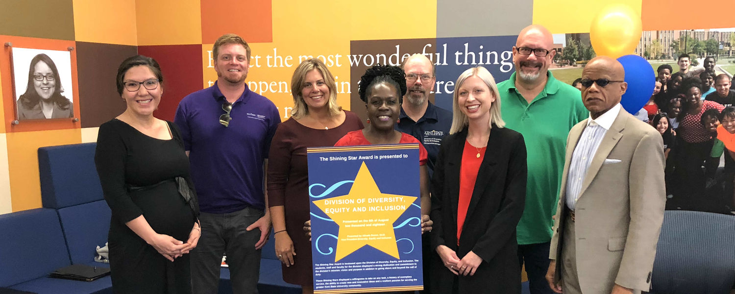 Schwartz Center staff receive Shining Star