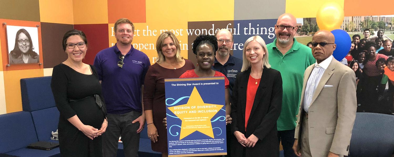 Schwartz Center staff receive Shining Star