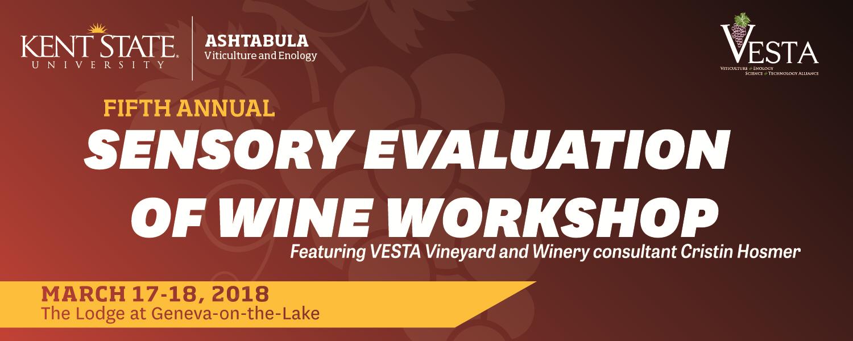 Sensory Evaluation of Wine Workshop logo