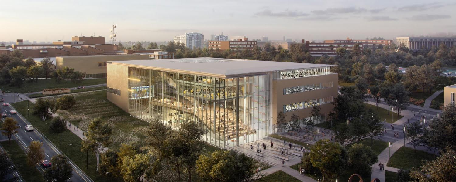 The Kent State University community got the opportunity to preview concepts for the new College of Business Administration building from four development teams.