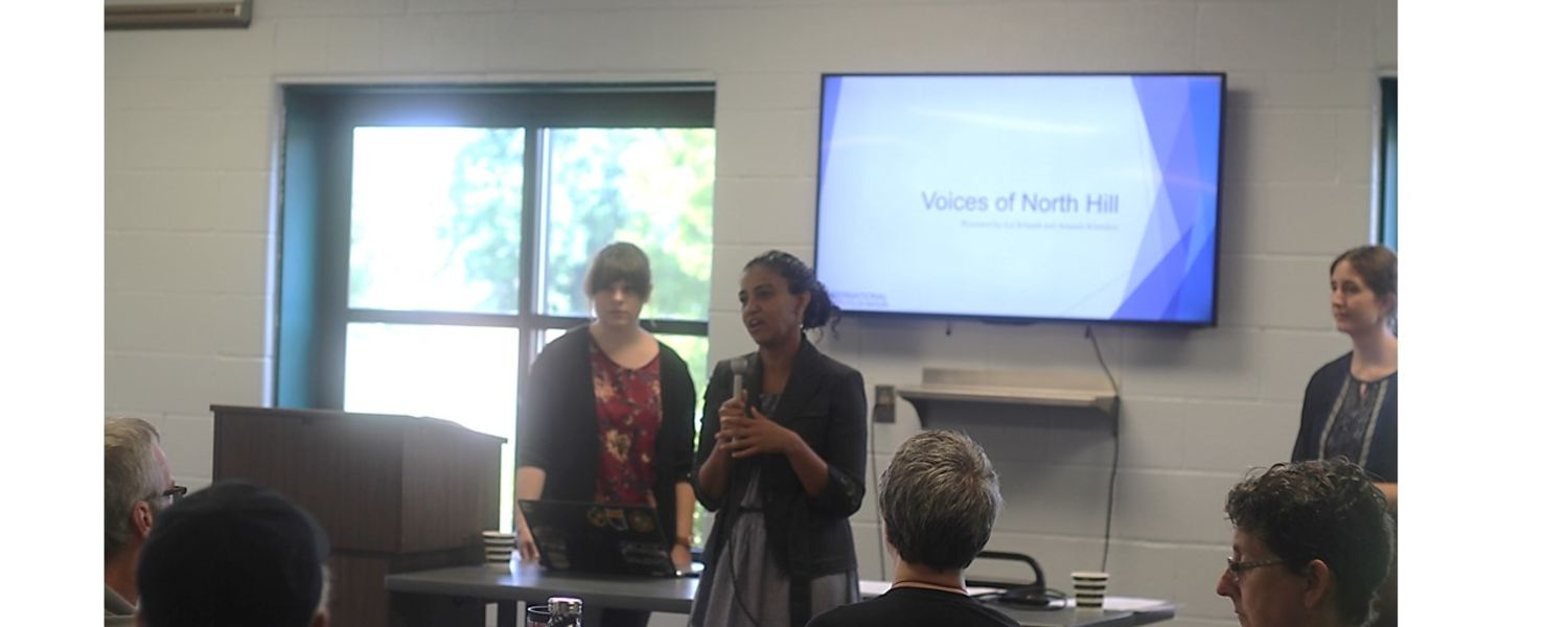 Discussion at Voices of North Hill