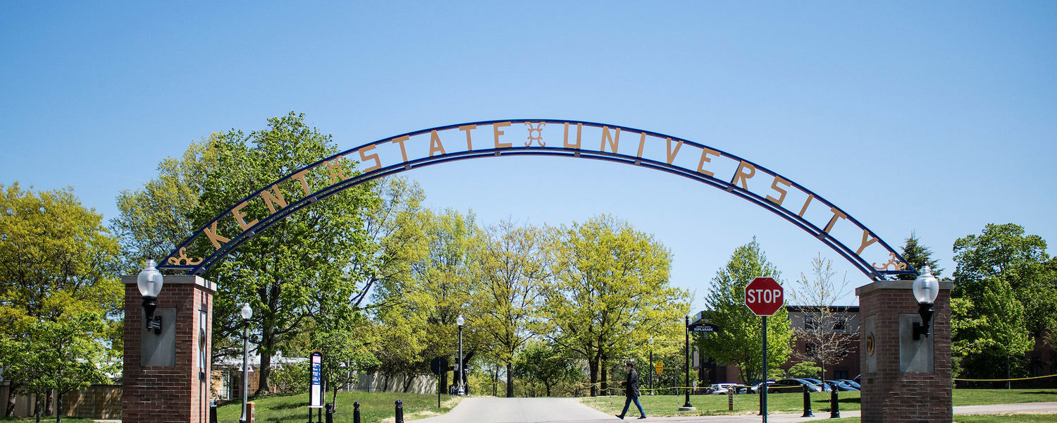Kent State Arch