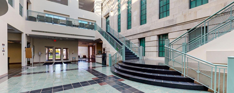 rockwell hall atrium
