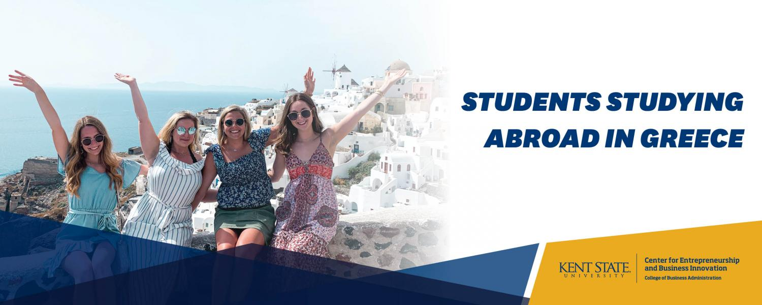 students studying abroad in Greece