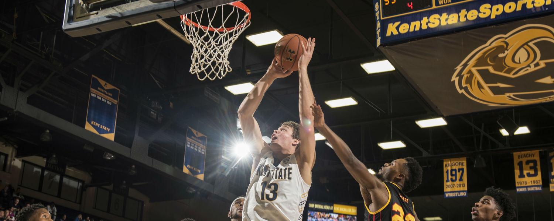 Basketball Player Rebound the Ball
