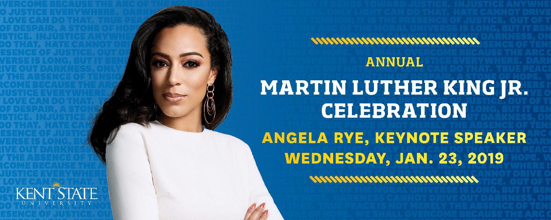 Martin Luther King Jr. Celebration: Angela Rye Keynote Speaker - Wed. Jan. 23