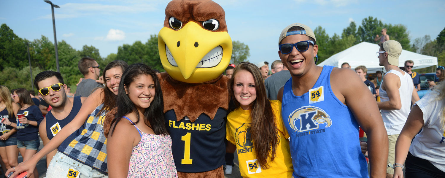 Hanging out with Flash at Kent State University