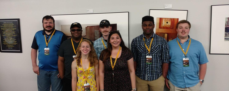 photo 2 Kent State Robotics team at NASA Robotic Mining Competition, May 2017