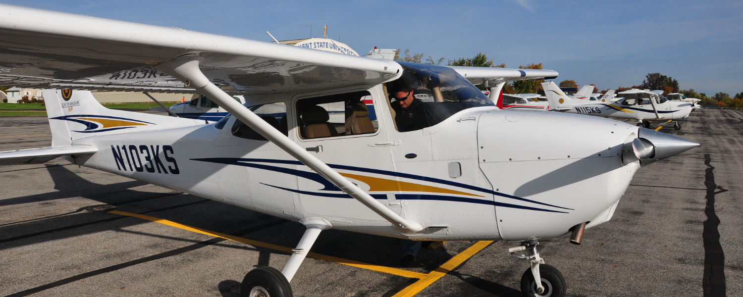 The Kent State Aeronautics Program is the largest flight training school in Ohio, and the only collegiate aviation program in the state to be accredited by the Aviation Accreditation Board International (AABI).