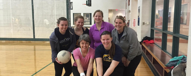 CSI volleyball team - Spring 2016