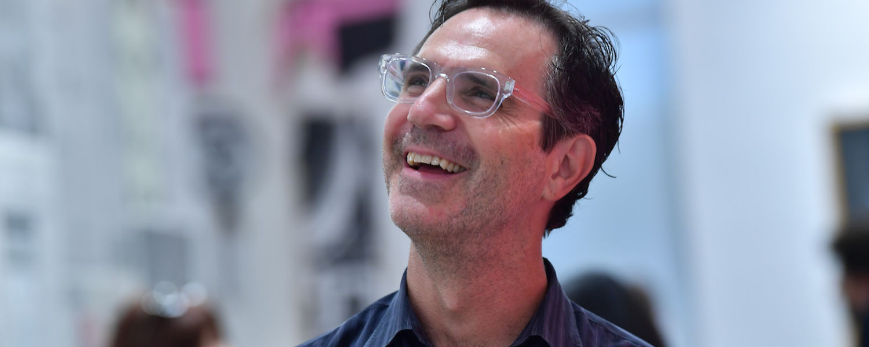 Smiling faculty member