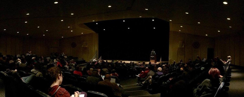 Poetry Reading in the Kiva Auditorium