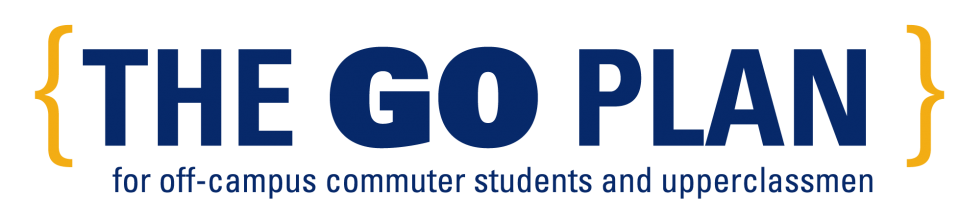The Go Plan for off-campus commuter students and upperclassmen