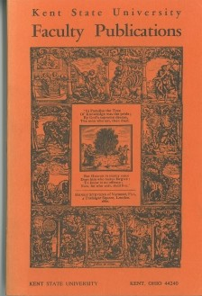 The 1968 cover features a bookplate from the Kent State University Library's collection