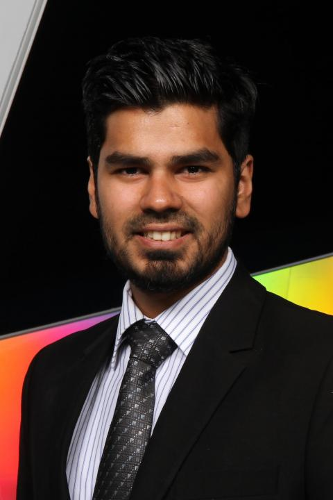 headshot of professor shihab a.m. syed