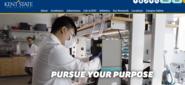 Kent.edu homepage