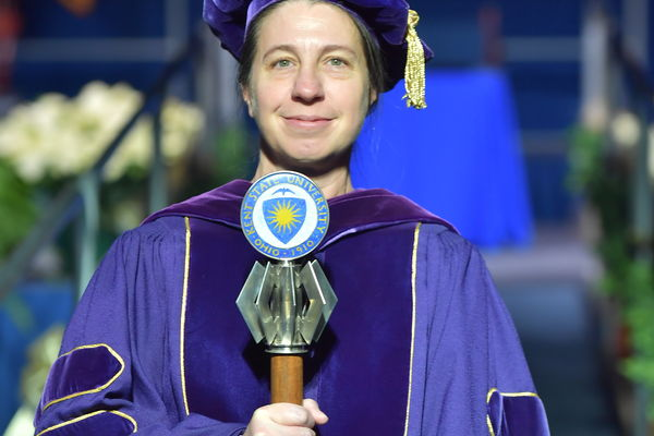 Photo of Debra Smith, University Macebearer 2016-2017